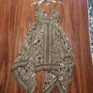 Scarf sequin dress